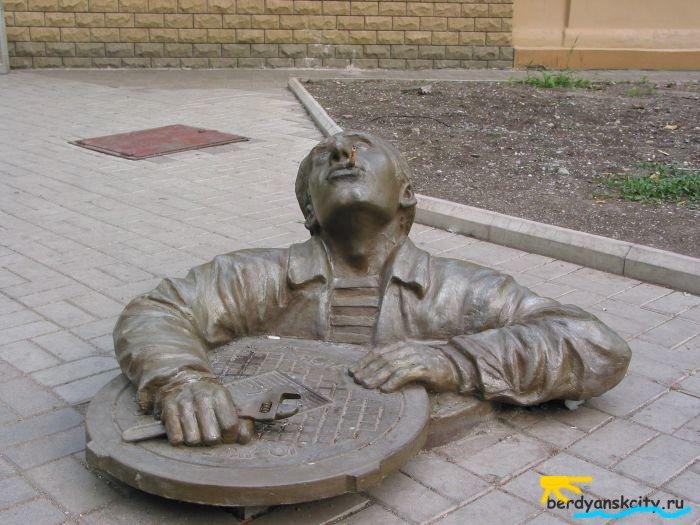 Новые памятники Бердянска.