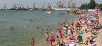 Бердянск готовится к курортному сезону