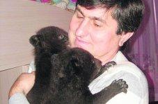 В Бердянске родились медвежата