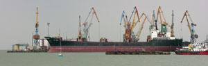 В Бердянском порту завершена ледовая кампания