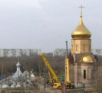 На Свято-Никольский храм установили купол