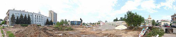 Реконструкция Бердянска, панорама