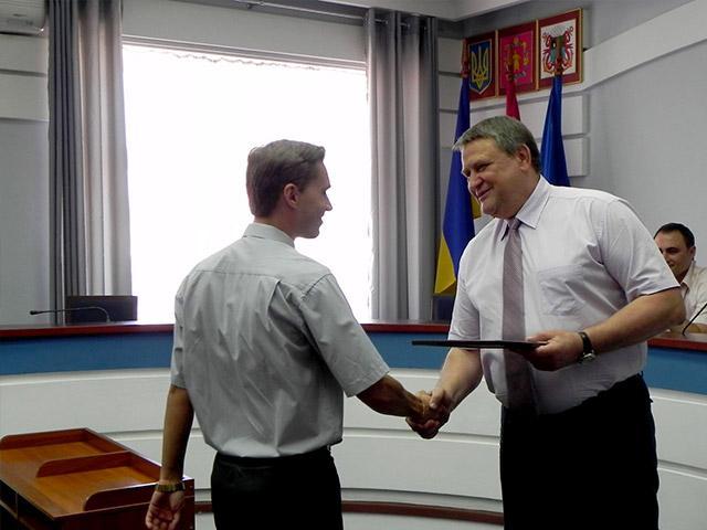 В Бердянском исполкоме поздравили журналистов