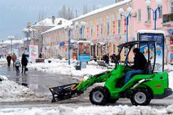 В Бердянске начали штрафовать за неубранный снег