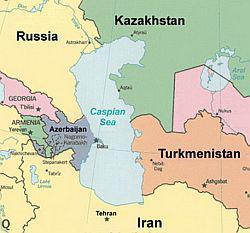 Каспий и геополитика